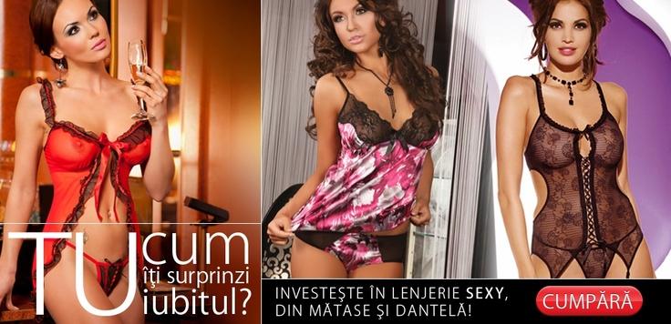 Arsenalul tău din ce-i compus, cu ce reuşeşti să-l faci KO? :)    Aruncă o privire şi pe http://www.tinar.ro/accesorii/lenjerie.html, spor la shopping şi zâmbete!