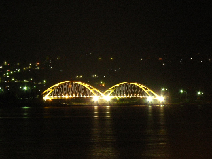 Nuansa keindahan kota palu malam hari...Palu City Indonesia