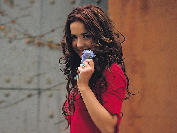 Natalia Oreiro in youth
