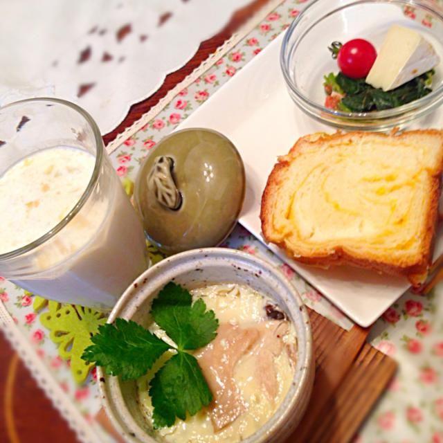 松茸入り茶碗蒸しも食べたよー‼︎(^^) - 2件のもぐもぐ - 今日の朝御飯♡ by hmsy0426hmsy