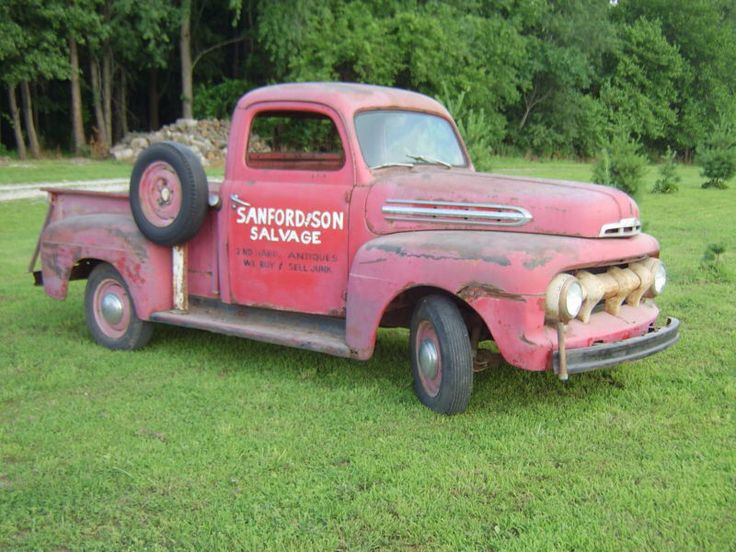 Ford truck from the tv show  Sanford and Son  & 88 best 1951 and 1952 Ford F1 images on Pinterest   Classic trucks ... markmcfarlin.com