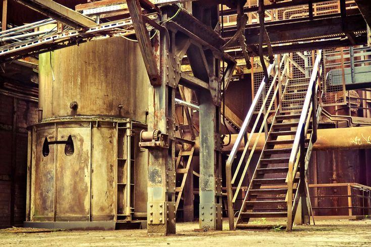 #architecture #break up #building #duisburg #factory #factory building #gradually #heavy industry #historically #industrial architecture #industrial heritage #industrial park #industrial plant #industry #landsc