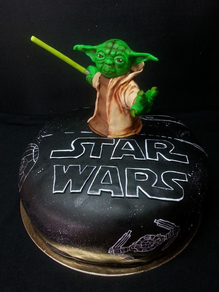 Star Wars/Yoda CAke