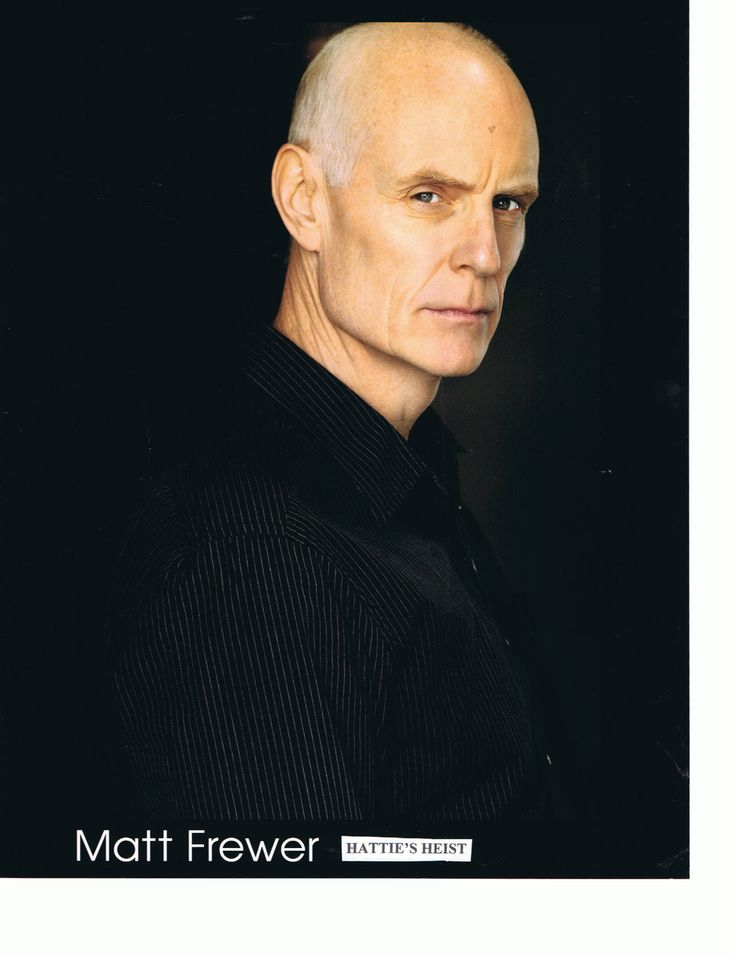 """While writing """"A Voice in the Darkness"""" (With Eyes Open... Part Two), I pictured Doctor Matthew Carter portrayed by Matt Frewer. (Max Headroom)"""