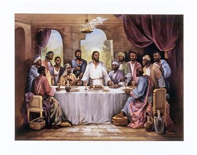 Black Jesus Art - The Last Supper - Quintana