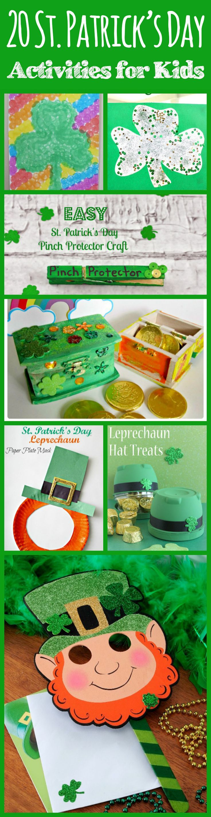 St patricks crafts for preschoolers - 20 St Patrick S Day Activities For Kids
