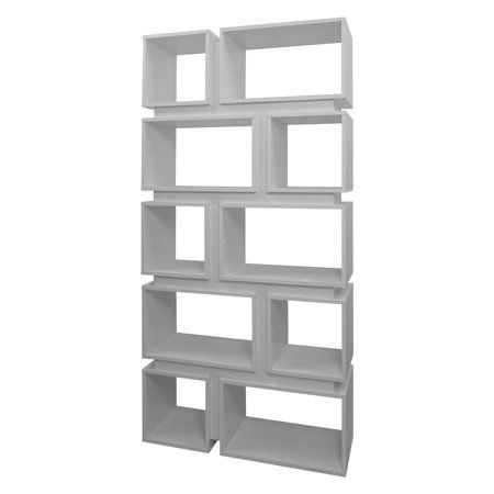 coaster bookcase in white in 2019 products modern bookcase rh pinterest com