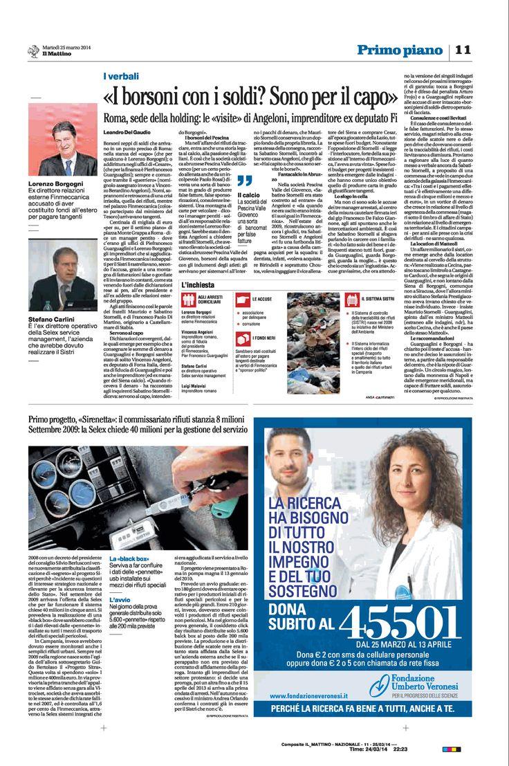 Finemeccanica, tangenti sul #SISTRI: quattro arresti per il sistema da 50 milioni che non funziona -pag2
