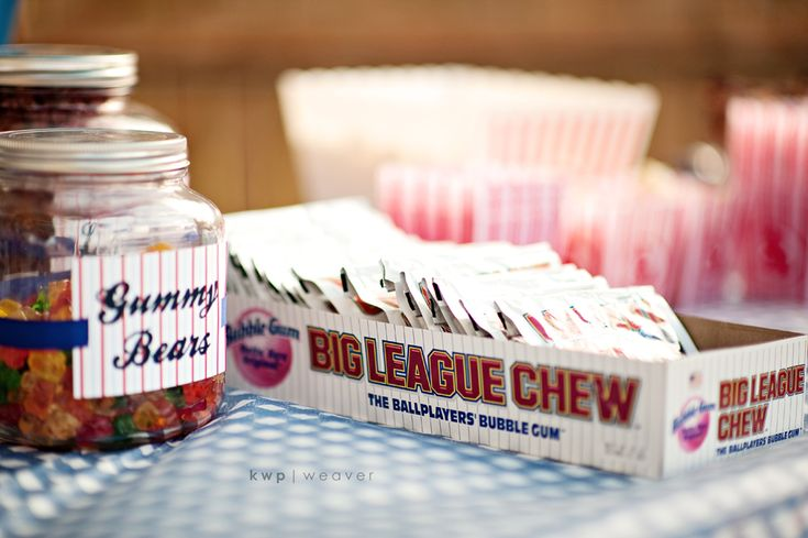 Big league chew. AWESOME!