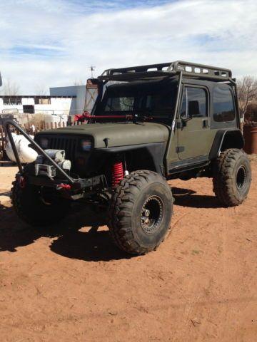 1989 jeep wrangler yj base sport utility 2 door 4 0l rock crawler rh pinterest fr