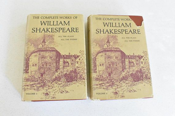 Matching Hardcover Set of The Complete Works of William