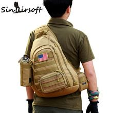 US $25.95 New SINAIRSOFT Male Chest Sling backpack Men's bags One Single Shoulder Man Large Travel Military Backpacks Molle Bags LY0034. Aliexpress product