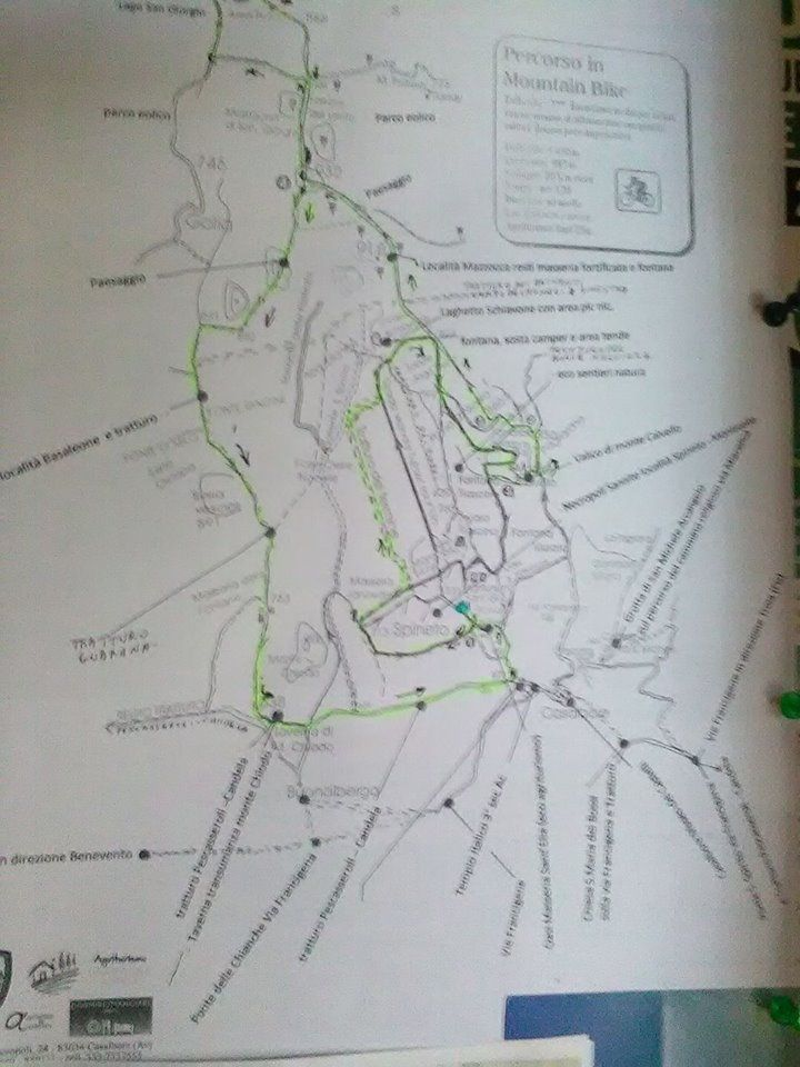 Percorso MtB sui tratturi della Valmiscano & Fortore