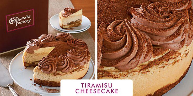 Tiramisu Cheesecake i inspiracje sernikowe co do dekoracji i połaczenia smaków