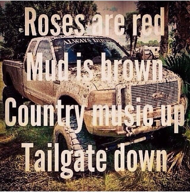 Country pick up lines hell yea  #country #mud #trucks | Country Life