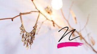 Így csinálj ékszertartót egy faágból! VIDEÓ -Takács Nóra - NORIE