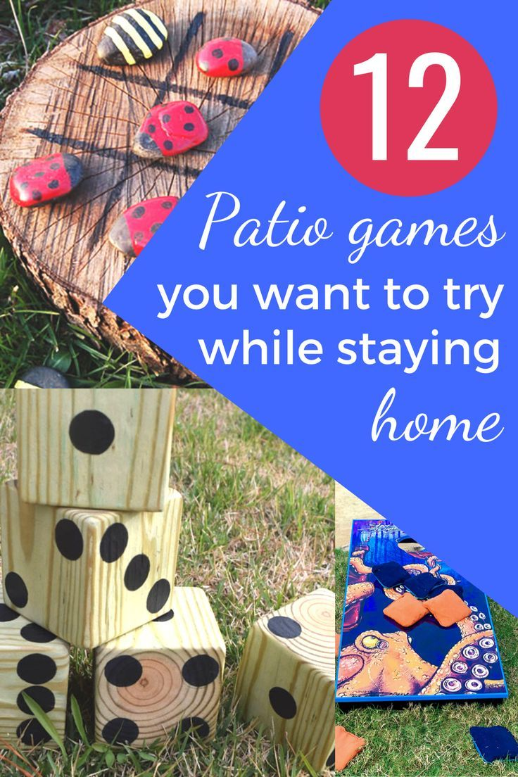 The Best Backyard Activities And Patio Games This Summer Learn To Create Beautiful Things Patio Games Backyard Activities Picnic Games For Kids