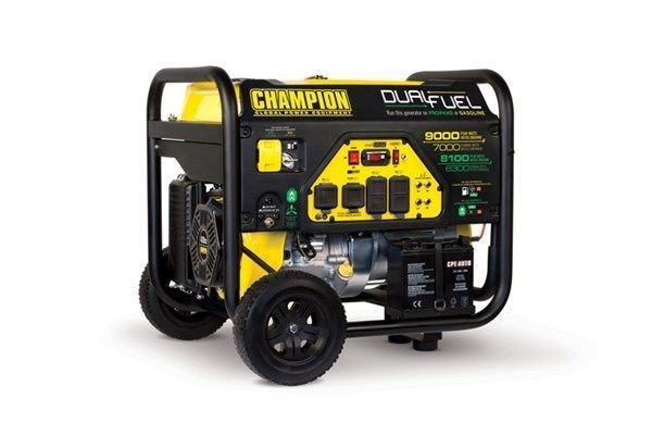 100155 - 7000/9000w Champion Power Equipment Dual Fuel Generator - REFURBISHED #ad