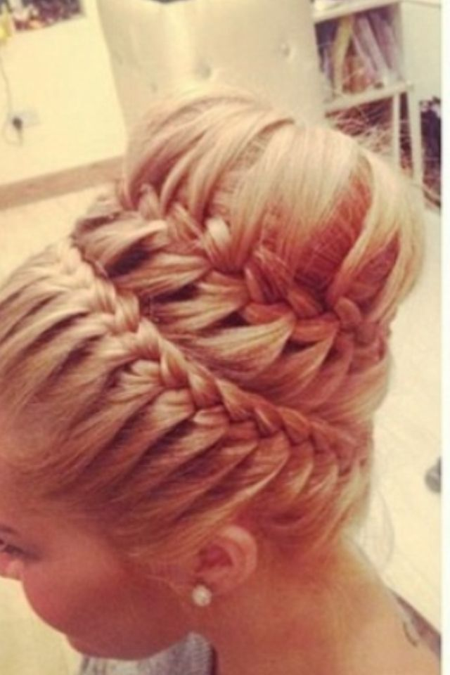 Fun Braids For Bad Hair Days: 25+ Best Ideas About Braided Sock Buns On Pinterest
