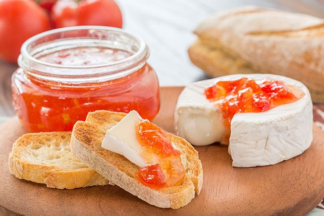 Got a bumper crop of tomatoes? Preserve them in all their deliciousness in this zesty relish recipe. (Bonus: Homemade relish makes a great gift!)
