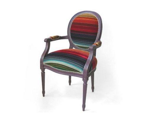 Как обновить старые стулья и кресла