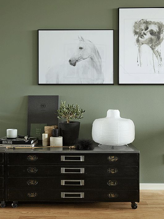 Best 25 Green Wall Color Ideas Only On Pinterest