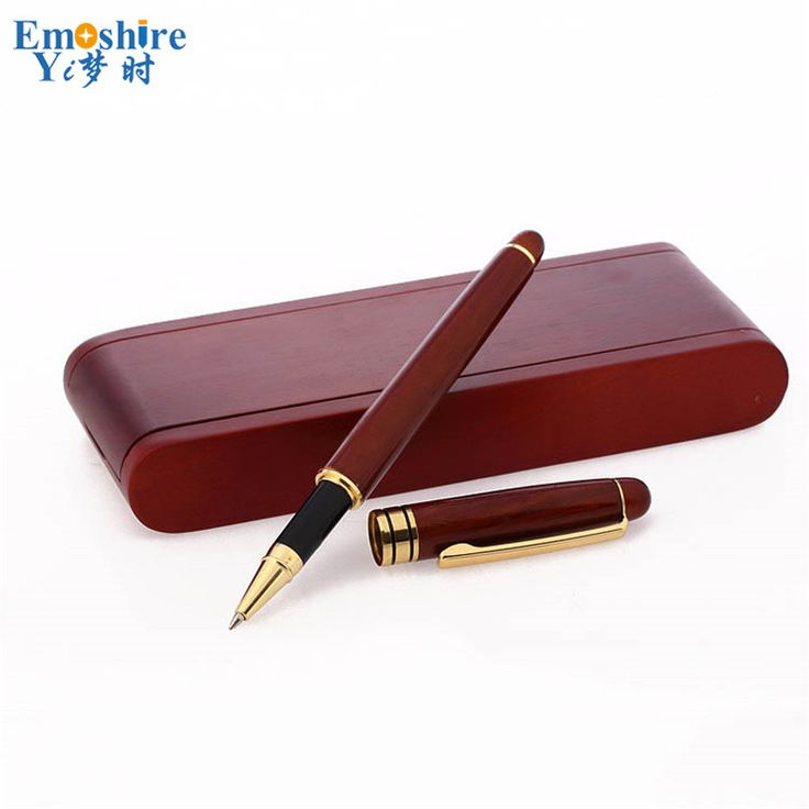 New Creative Signature Pen Gift Set for Stationery Students Graduation Birthday Gift Customization Wood Ballpoint Pen P053