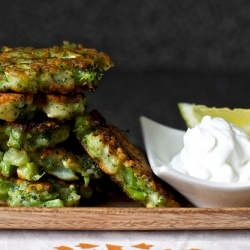 Broccoli Parmesan Fritters! | Yummy Foods! | Pinterest