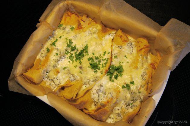 EGOSHE.dk - En madblog med South Beach opskrifter og andet godt...: Kikærtepandekager med rejer og krabbe