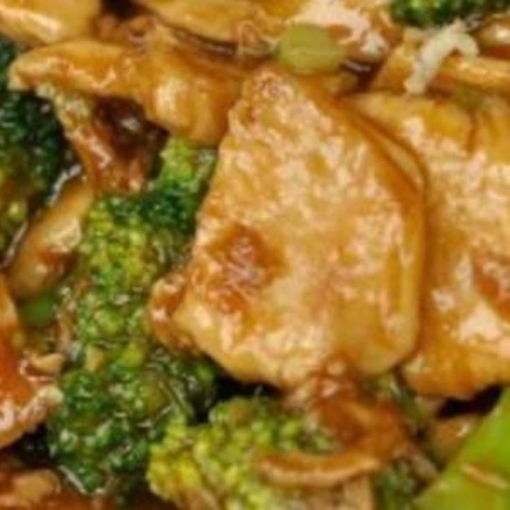 Stir Fry Broccoli Chicken from http://www.justapinch.com   #HealthyRecipes #ATBProject #YCH  Photo credit: powerplantop / flickr.com / CC BY-NC-ND