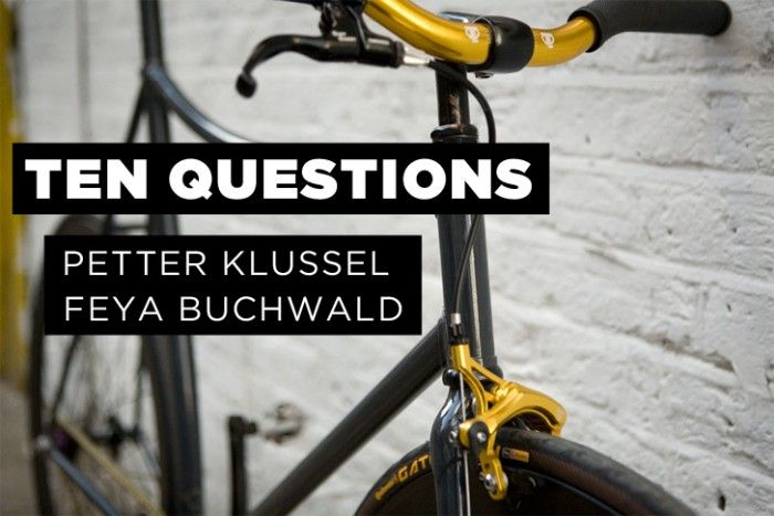 #TenQuestions Peter Klussel & Feya Buchwald