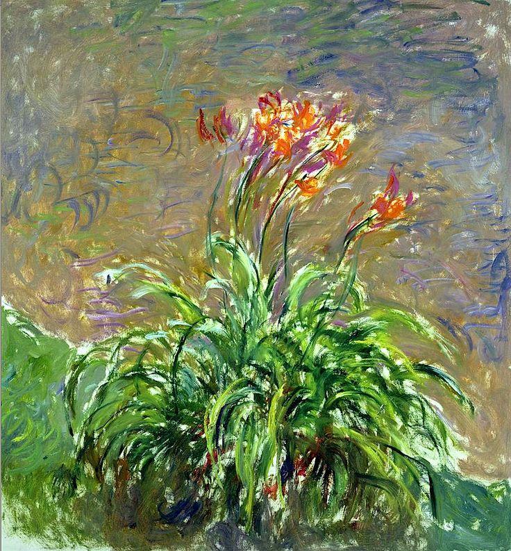 Claude Monet Hemerocallis (Daylilies) (Les Hémérocalles) 1914–17)