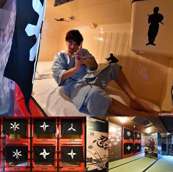 Ninja themed Capsule hotel ★ Business Inn NEW CITY @ Kannai, Yokohama  #japankuru #yokohama #kannai #capsulehotel #ninja #hotel #trip #kanagawa #캡슐호텔 #일본호텔 #닌자 #일본관광 #이색호텔 #膠囊旅館 #飯店 #日本住宿 #忍者 #f4f #followmeplease #picoftheday #interesting