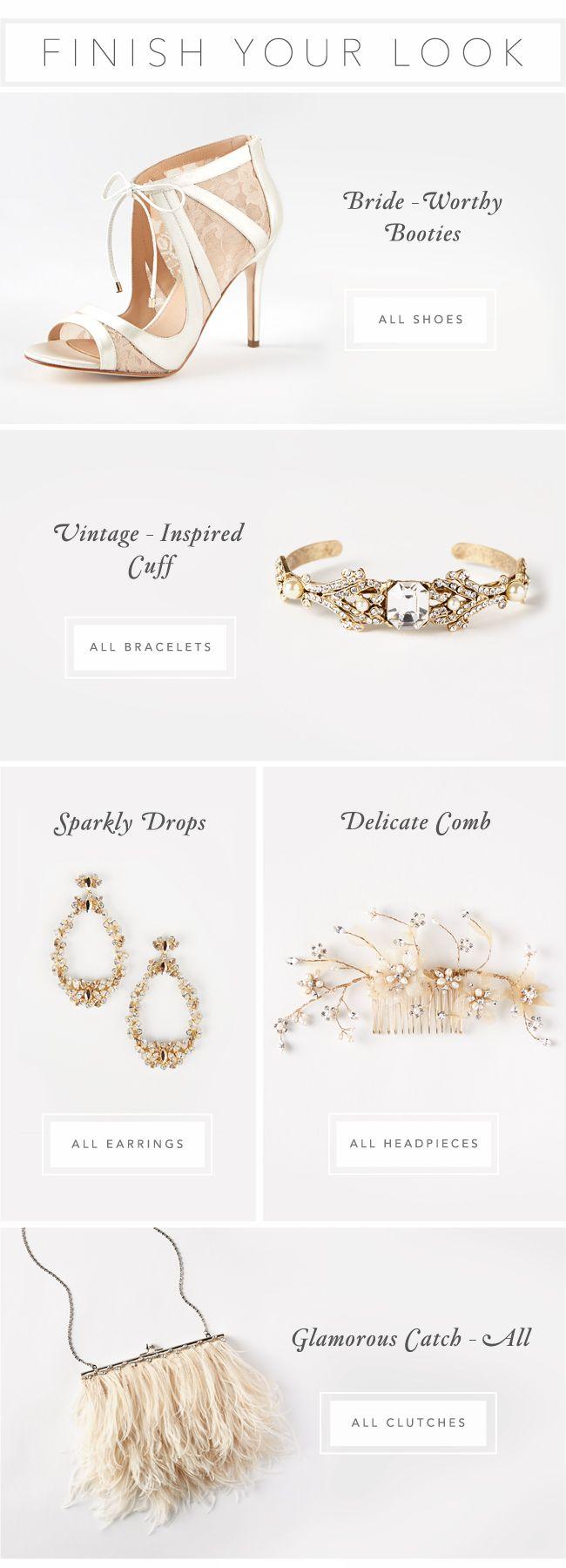 BHLDN | Anthropologie Weddings | Accessories | Email Design | Editorial Design