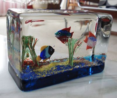 22 Best Images About Vintage Lucite And Glass Paperweights On Pinterest Starfish Fish