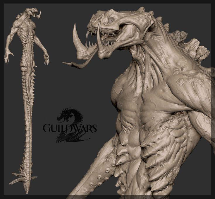 Guild Wars 2 3D Art by James Van Den Bogart – Zbrushtuts