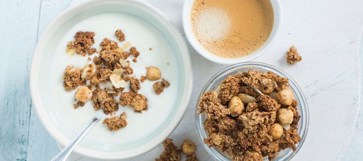Vind jij koffie in de ochtend ook zo lekker? Ontbijt dan een keertje met koffie granola voor een goede start van de dag.