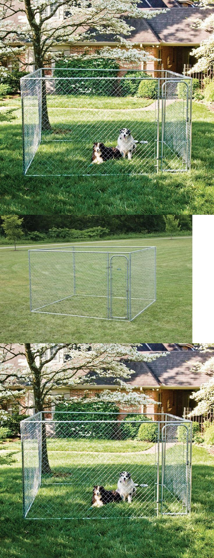 Fences and Exercise Pens 20748: Dog Kennel Pens Fences Exercise Pet Cages Pen 10X10x6 Dogs Doghouse Puppy Cage -> BUY IT NOW ONLY: $292.98 on eBay!