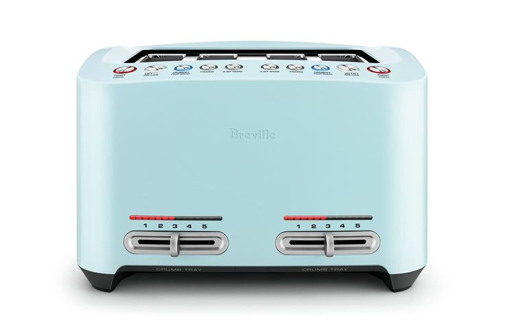 Home :: Home Appliances :: Kitchen Appliances :: Toasters :: Breville 4 Slice Smart Toaster - Frost