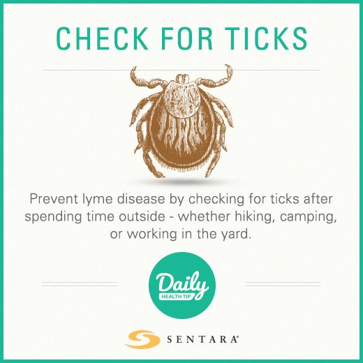 how to find ticks on your body