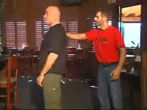 Bas Rutten Street Defense - The Best Version - YouTube <<He's got some moves, man! And he's pretty funny. :)