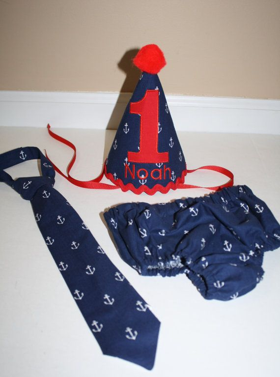 Hey, I found this really awesome Etsy listing at https://www.etsy.com/listing/251029635/nautical-boy-first-birthday-party-outfit