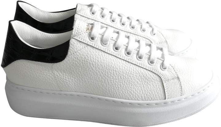 Russell \u0026 Bromley White Leather