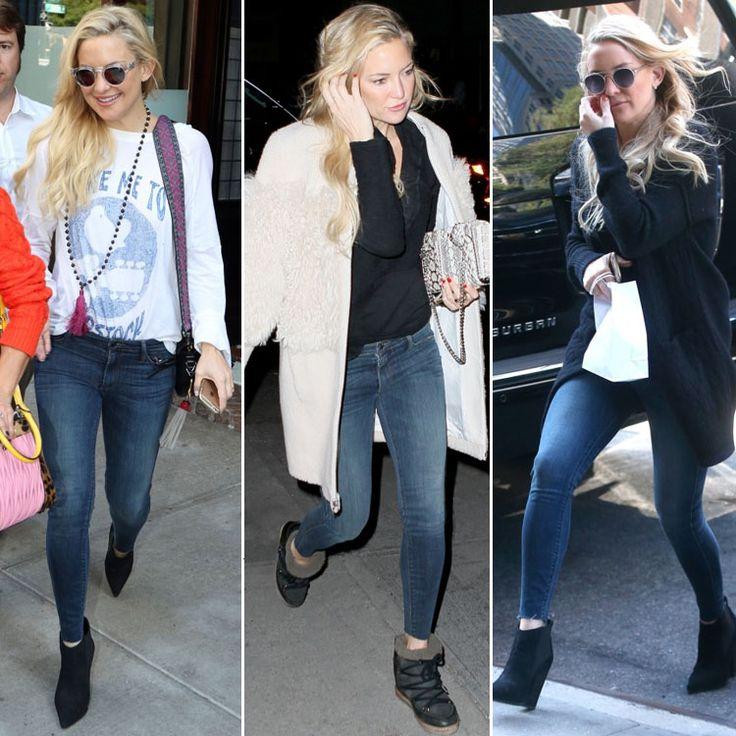 Кейт Хадсон, похоже, влюбилась в эти джинсы Black Orchid. Наверное, всё благодаря технологии Liquify, благодаря которой они очень приятные к телу. Подобрать себе джинсы Black Orchid вы сможете в JiST или jist.ua.