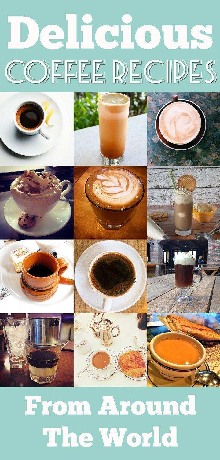 14 international coffee recipes from around the world