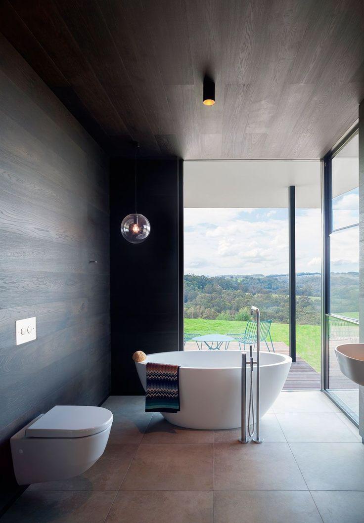 men bathroom tumblr%0A Amazing bathroom created using Tongue n Groove u    s Raba boards as wall  cladding  Installation by Gibraltar