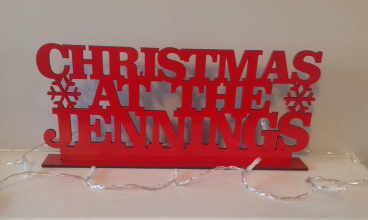 A personal favourite from my Etsy shop https://www.etsy.com/uk/listing/468996228/christmas-at-the-standing-plaque-sign