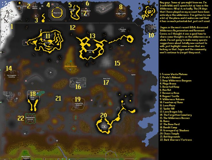 Deep Wilderness PKing Video 43 Runescape 2007 Pinterest - new osrs world map in game