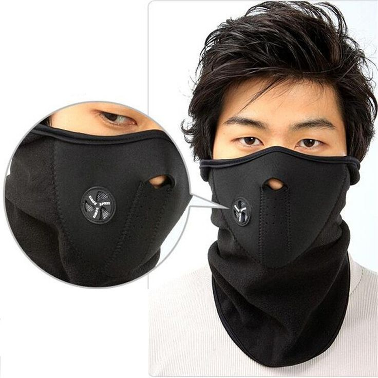Winter Thermal Neck Warmer Fleece Bicycle Windproof Face Mask Outdoor Sport Masks Ski Snowboard Cycling Accessories AC0001