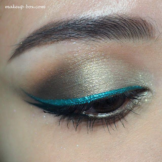 The Makeup Box: Urban Mermaid - Urban Decay Razor Sharp Long-wear Liquid Eyeliner Demo